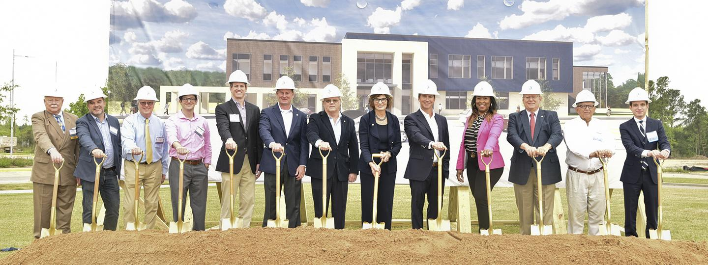 San Jacinto College breaks ground on new Generation Park Campus