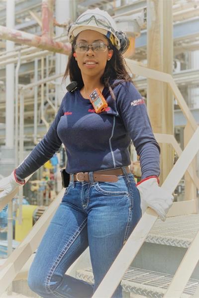 Kesha Creeks-Williams, Shift Team Leader ExxonMobil Chemical Plant
